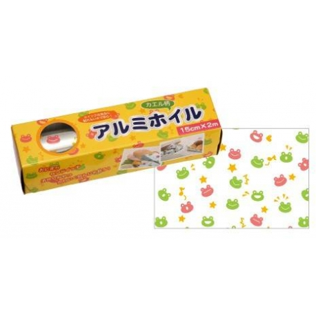 Frog Printed Aluminum Foil Sandwich Wrapping Sheet