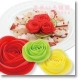 Silicon Cooking Red Rose set of 3