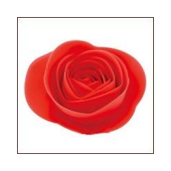 Silicone Decorative Cooking Red Rose set of 3
