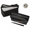 Japanese Ag+ Bento Lunch Box For Men Set 2 Compartment Slim