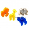Bento Pastry Cookie Cutter and Stamp set of 4 Animal