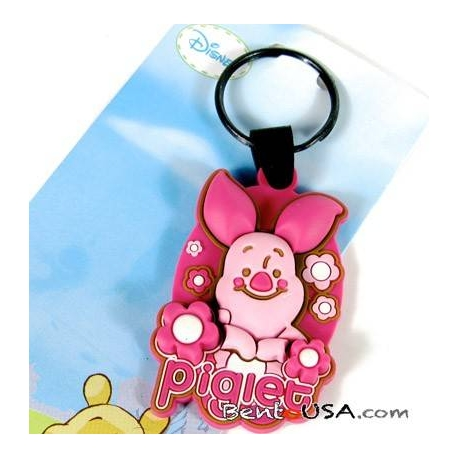 Cute Bevel Bag Key Chain - Disney Piglet