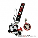 Cute Mobile Strap Key Chain - Panda Z the Robonimation