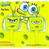Spongebob Squarepants 2 Sided Bevel Key Cover Set of 2