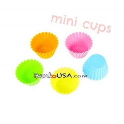 Japanese Bento Accessories Silicone Colorful Food Cup Mini
