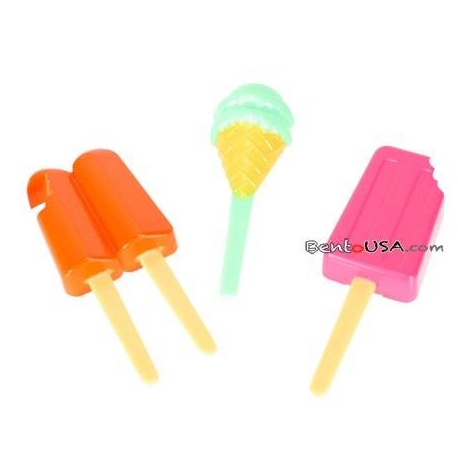 Food Decorating Pick Puffy Bento Food Pick Ice Cream Popsicle