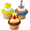 Food Decorating Pick Cute Birthday Party Pick 12 Pcs