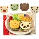 CuteZcute Bento Food Deco Cutter and Pastry Press Kit