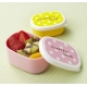Microwavable Bento Food Cup with Seal Lid - Polkadot