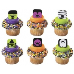 Food Decorating Party Ring Cute Halloween 6 Designs