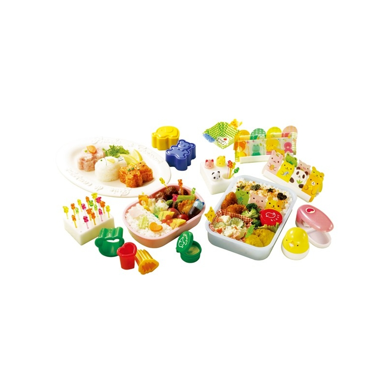Bento lunch decoration accessories value set and case for for 7p decoration