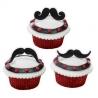 Food Decorating Pick Flexi Mustache Fun Stache