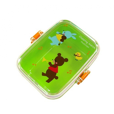 Microwavable Japanese Bento Box Lunch Snack Box Green