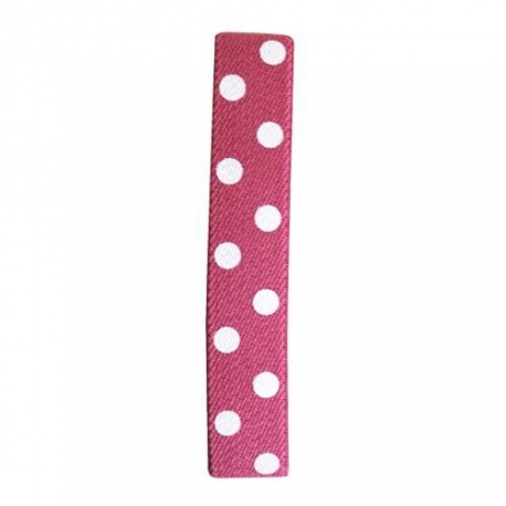 Japanese Bento Box Elastic Belt Bento Strap Polka Dots Pink