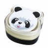 Bento Box 2 tier Lunch Box with Strap Panda Face Cold Pack