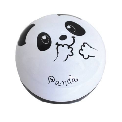 Round Lacquer Bento Box 2 tier with Cold Gel Pack Panda