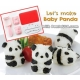 Baby 3D Panda Bento Rice Mold and Seaweed Nori Cutter Set