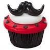 Food Decorating Ring Mustache Fun Stache