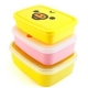 Microwavable Bento Lunch Box 3 Nesting Container Rilakkuma