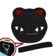 Japanese Bento Box 2 tier Lunch Box with Strap Black Cat Face