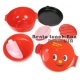 Round Lacquer Bento Box 2 tier with Sauce Cup