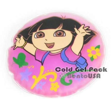 Reusable Cold Gel Pack Dora for Pain Relief and Bento Box