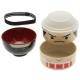 Japanese Bento Box 2 tier Lunch Box Kokeshi Set Suma Champion