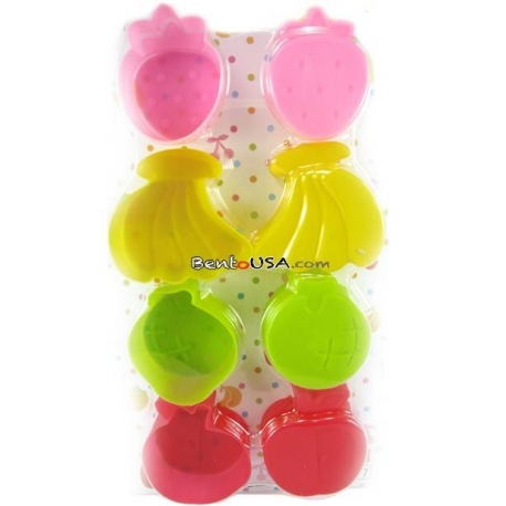 Microwavable Bento Thin Silicone Food Cup Fruit