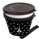 Japanese Microwave Safe 2-tier Paris Bento Box