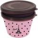 Japanese Microwave Safe 2-tier Paris Bento Box Pink