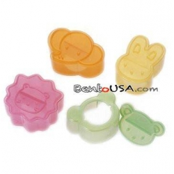 Japanese Bento Accessories Sandwich Cutter 4 designs Animal