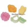 Japanese Bento Accessories Sandwich Cutter 4 designs Animal