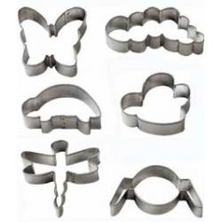 Bento Decoration Accessories Cookie Cutter Bugs Cute 6 pcs