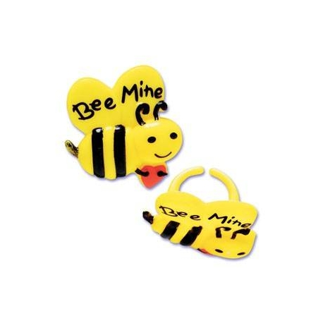 Food Decorating Party Ring Bee Mine 8pcs