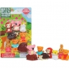 Cute Japanese Kawaii Animal Puzzle Eraser Set