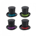 Food Decorating Topper Party 3D Top Hat 6 pcs