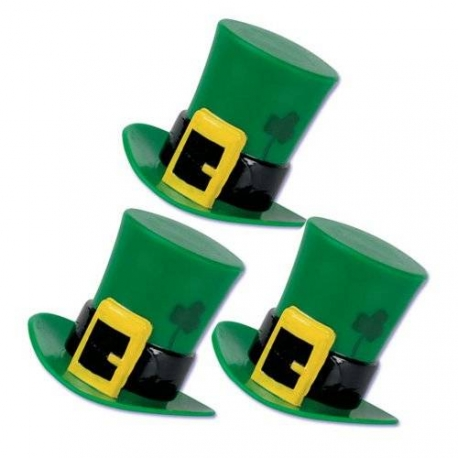 Food Decorating Topper Party 3D St Patrick Hats