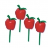 Food Decorating Pick 3D Apple Food Pick