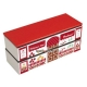 Japanese Microwave Safe 2-tier Bento Box Red Shop