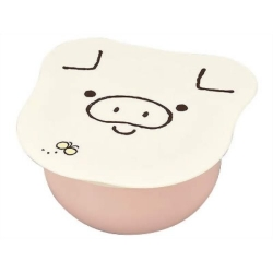 Microwavable Japanese Small Bento Box Snack Pig