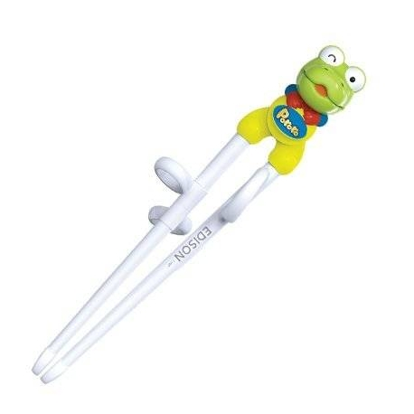 Edison Frog Kids Assisted Training Chopsticks for Right handed