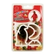 Japanese Bento Accessories Cookie Cutter Set 3D Penguin