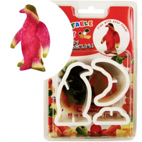 Japanese Bento Accessories Cookie Cutter Set 3D Penguin