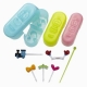 Japanese Bento Cute Food Wiener Cutter 3 Emotions with Pick set