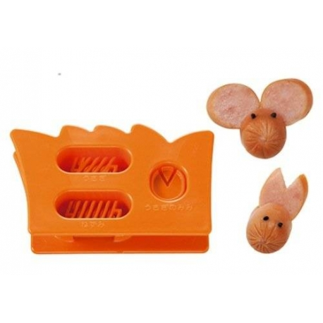 Japanese Bento Cute Food Wiener Cutter Mouse and Rabbits