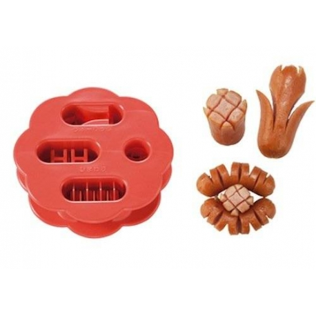 Japanese Bento Cute Food Wiener Cutter Flower