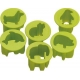 Japanese Bento Deco Vegetable Cutter Chuboos
