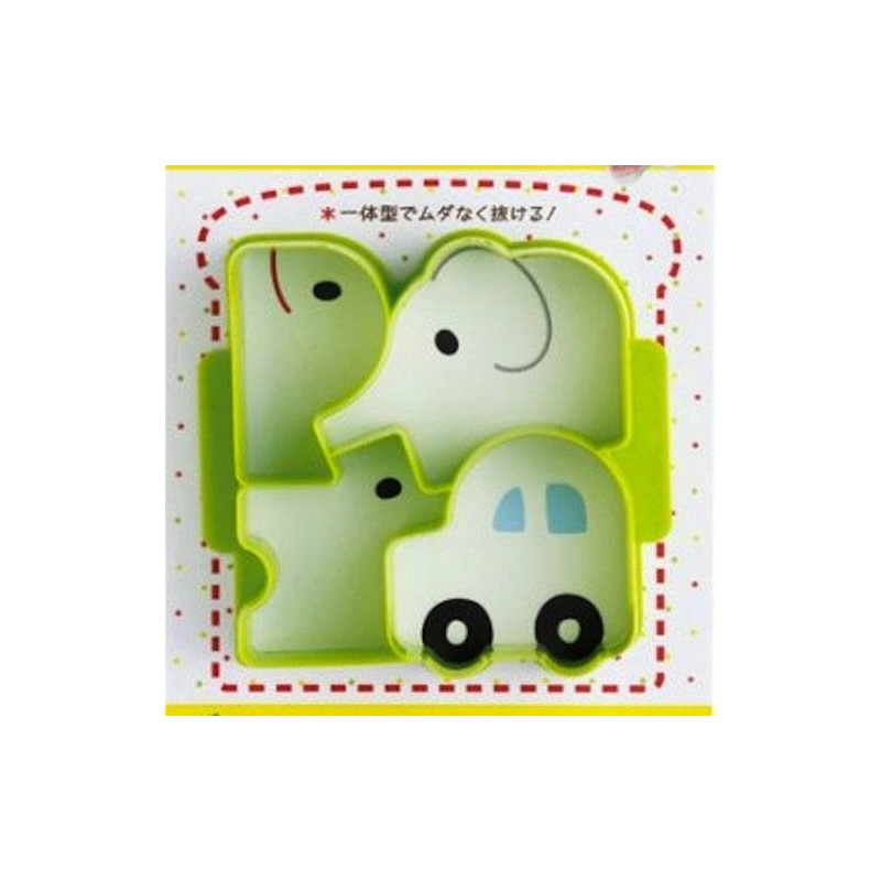 Elephant Sandwich Cutter Cheeky Chuckles Sandwich Cutter Car
