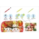 Japanese Bento Decorative Scoop Carving Knife Set Deluxe