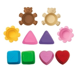 Bento Silicone Baking Food Cup - Assorted
